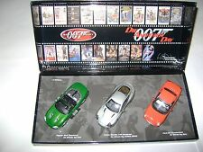 MINICHAMPS COFFRET JAMES BOND 007 - 1/43 - DIE ANOTHER DAY COMME NEUF + DVD ANGL