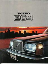 Volvo 264 DL GLE Saloon 1976-77 Original UK Sales Brochure No. RSP/PV 4075-77