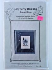 Mayberry Designs October Birdhouse Chart Love From The Nest Cross Stitch Signed