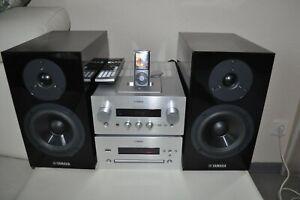 YAMAHA R 840 Pianocraft CD Player Stereo Anlage iPhone Dock MP3 USB Musikanlage