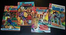 New listing Lot of 4: The Phantom 49 fnvf, 50 vf, 52 vf, 53 vf, Charlton Comics, Bag&Bd 1970