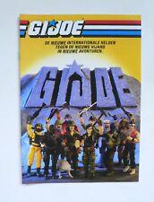 Vintage Hasbro G.I.Joe GIJOE Adventure Catalog 1987 BE version 8 pages