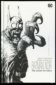 HC Batman Noir The Court of Owls 2014 nm/mint 9.8 Hardcover Scott Snyder