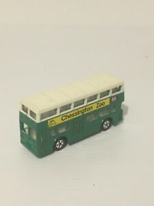 TOMICA NO F15 LONDON BUS 1/130 SCALE MADE IN JAPAN