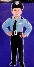 BABY INFANT 12-18 MOS MUSCLE COP POLICE OFFICER HALLOWEEN COSTUME SUIT