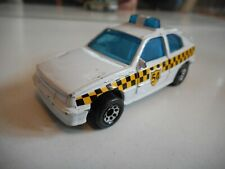 Matchbox Vauxhall Astra GTE / Opel Kadett GSI Taxi in WHite