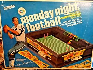 Vintage 1972 Monday Night Football Computerized Electronic Football Game ~ Works