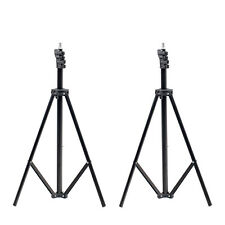 2 New Quality Studio Adjustable Soft Box Flash Continuous Light Stand Tripod UK