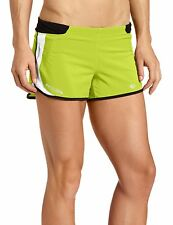 PEARL IZUMI IP XL PRO SERIES WOMENS W FLY SPLIT SHORT FOR RUNNING WORKOUT GYM