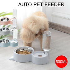 500ml Pet Dog Cat Food Water Drinking Eating Bowl Dish Feeder Dispenser Portable
