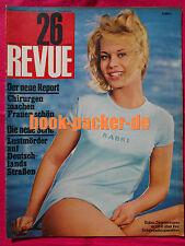 REVUE 1966 Nr. 26 (22.6.66): Gracia Patricia / Ursula Andress / Thomas Fritsch