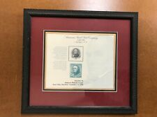 Ten American Bank Note Co & Bureau of Engraving and Printing - Framed Prints