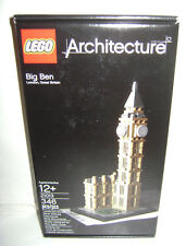 NEW 21013 Lego ARCHITECTURE Big Ben London Building Toy SEALED BOX RETIRED A