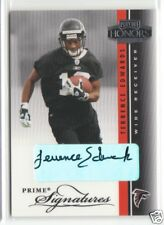 Blue Bombers Terrence Edwards 2003 Playoff Honors Autograph Rookie /300 AUTO