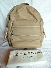 ❀❀❀ Liebeskind Berlin - Rucksack - SAKU L - Leder Taupe - NEU m. Staubbeutel ❀❀❀