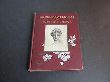 Vintage, 1905- un Orchard Princesa por Ralph Henry Barbour - Tapa Dura – Libro