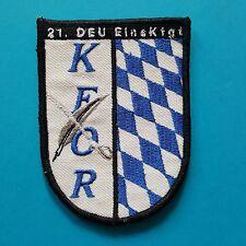 German Germany NATO KFOR 21. Deutschen EINSATZKONTINGENT Army Sleeve Badge Patch