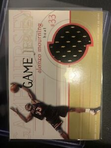 1999-00 Upper Deck Alonzo Mourning  UD Game Jersey