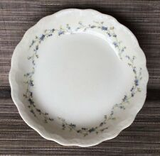 """Antique Buffalo Pottery 1915 Mark Forget Me Not Pattern Bowl 7.75"""""""