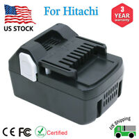 For Hitachi 18V Lithium Ion Battery BSL1830C BSL1840 BSL1815 Max 4.0Ah Extended