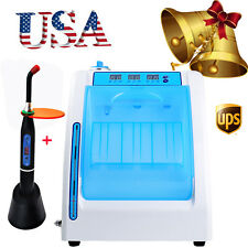 USA Dental Handpiece Maintenance Cleaner Lubrication Oiling System curing light