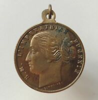 FRANCE old rare medal token NAPOLEON III MARRIAGE WITH THE EMPRESS EUGENIE 1853