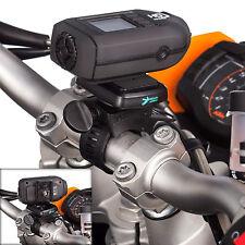 Motocicletta Rilascio Rapido Fotocamera Piastra + ELICA Cinturino per Drift HD Ghost / Fantasma S