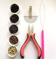 Accesorios de color principal marrón para pelucas y extensiones