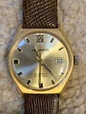 Vintage HELBROS 21 Jewel INVINCIBLE men's watch.
