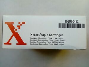 2 x Xerox Staple Cartridges 108R00493 5000 each