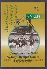 Australia 1998 Olympic Legends Gen Booklet ($5.40) O/PT - B214a(1)