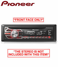 Pioneer DEH-1500UB stereo face, CD USB Auxiliary in car radio *FRONT FACE ONLY*