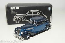 MINICHAMPS BMW 335 TWOTONE BLUE MINT DEALER BOXED