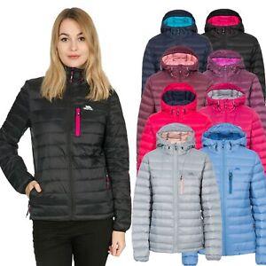 Trespass Womens Down Jacket Hooded Casual Coat XXS-XXXL Arabel