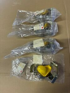 WÜRTH 4 Stück Kupplungskopf Gelb Automatisch Bremse 16 x 1,5 08853205