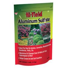 Hi-Yield Aluminum Sulfate Flower Growth Fertilizer Vigorous Plants Evergreen 4lb