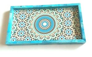 Wooden Serving Tray Home Decor India Boho