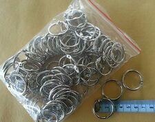 "100 scrapbooking hinged rings 25mm dia Document Binding rings 1"" 2.5cm"