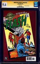 Millennium Edition Flash #123 CGC SS 9.6 signed Joe Giella 1st JAY & BARRY MEET