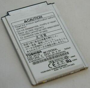 "NEW Toshiba MK1003GAL HDD1262 1.8"" Laptop 10GB Hard Drive 50-PIN Computer iPod 3"