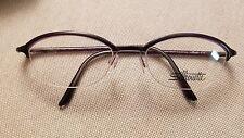 Silhouette SPX M1950 40 6050 48/18 125 Semi Rimless Designer Eyeglass Frames NEW