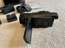 Sony FDR-AX100E Professional 4K camcorder