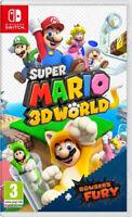 Super Mario 3D World + Bowsers Fury (Nintendo Switch) (NEU & OVP) (Blitzversand)