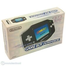 Nintendo GameBoy Advance - console #black JAPAN boxed  MINT CONDITION