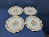 Vintage Remington Fine China by Red Sea Set/4 Dessert/Luncheon Plates Beautiful!