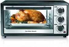 Hamilton Beach 4-6 Slice Toaster Oven Bake Broil and Toast
