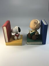 New ListingRare Westland Giftware Peanuts Snoopy By Schulz Charlie & Snoopy Reading Books