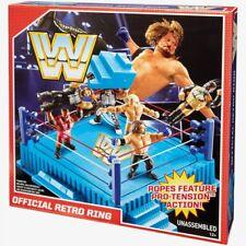 WWE Mattel Official Retro Wrestling Ring NISB