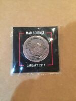 Loot Crate Gaming MAD SCIENCE January 2017 Pin GET IT FAST ~ US SHIPPER