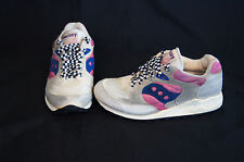 Saucony Jazz 4000 womens size 7 shoes white/violet/pink